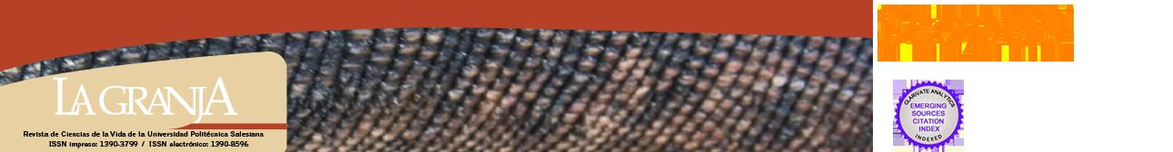 La Granja. Revista de Ciencias de la Vida