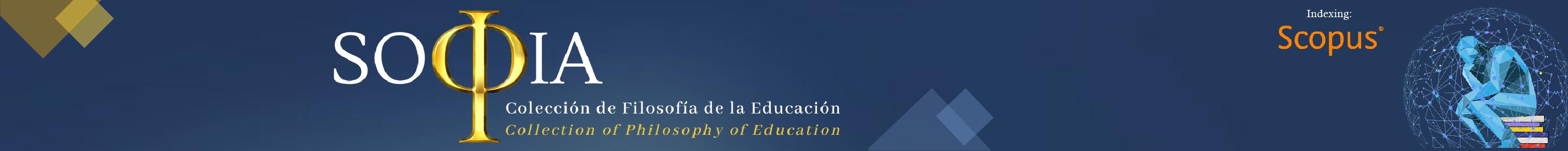 Sophia: Colección de Filosofía de la Educación